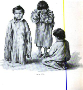 Grace Carpenter's depiction of captured Indian children