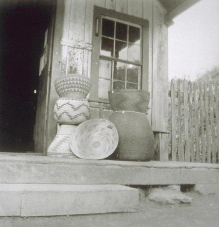 Baskets were sometimes the only thing of value the Natives had
