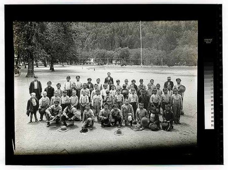 Native Children on the Hoopa Reservation