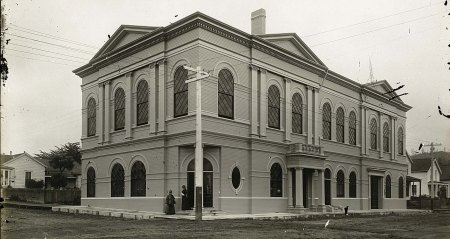 Old Arcata City Hall, Torn down in 1970