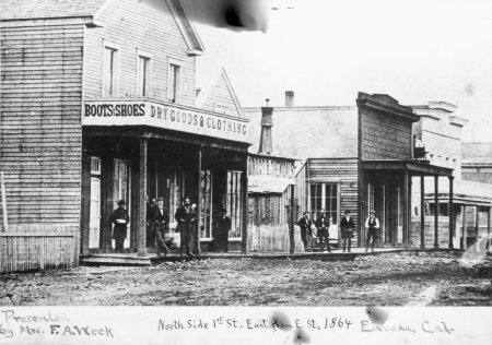 E Street, Eureka, 1864