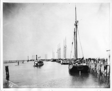 HSU Special Collection. Film 78 - Arcata Wharf