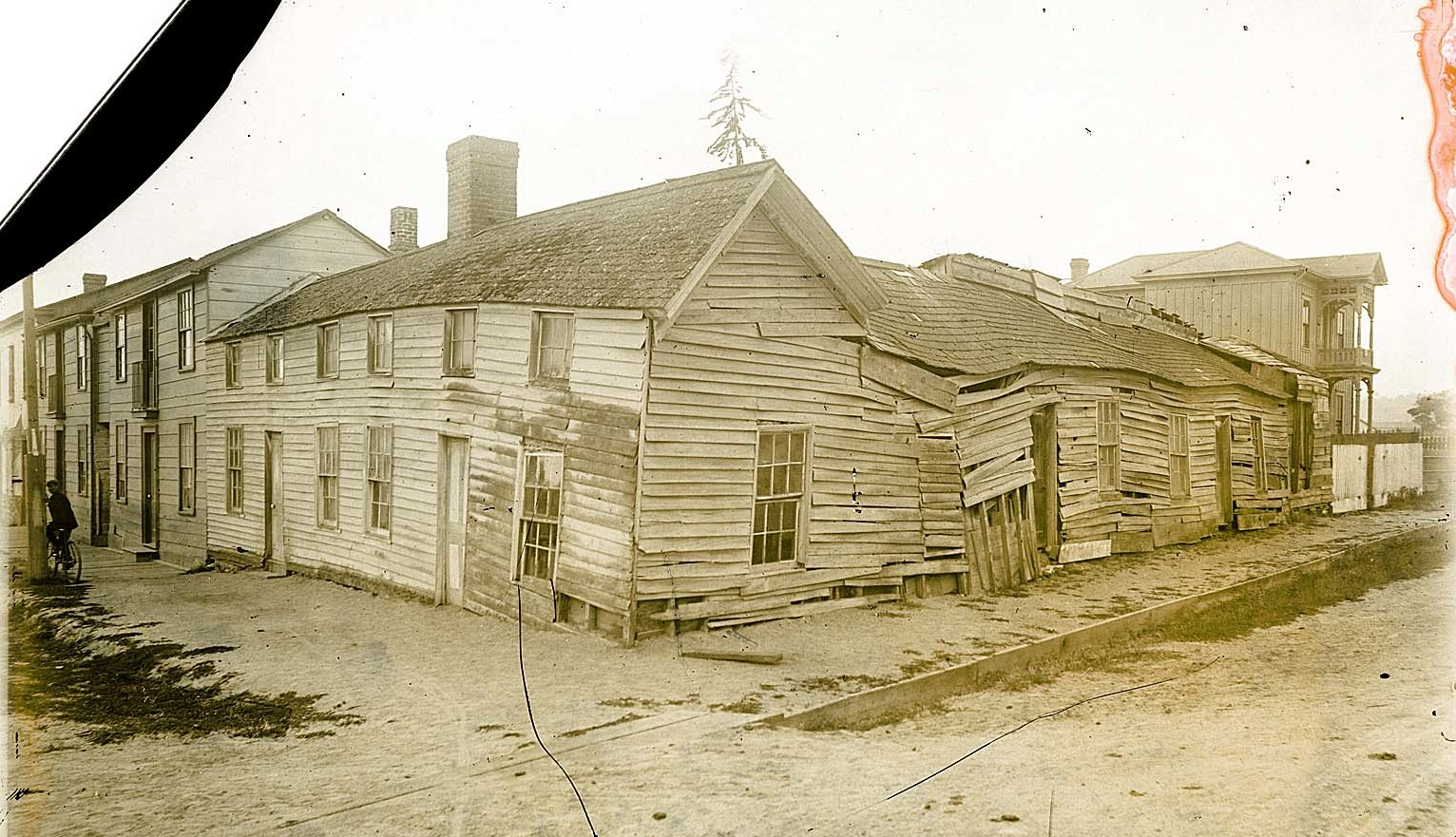 Building Falling Down : Old buildings lynette s norcal history