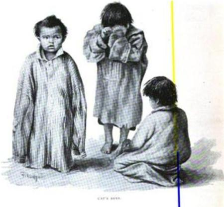 Child captives (who became child slaves)
