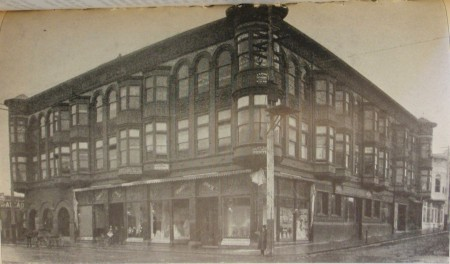 1904- Souvenir Photo-Carson Block Ext (Humboldt County Library)