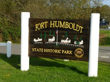 Fort Humboldt Entrance Signs - 2