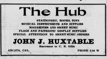 Arcata.TheHub.1918