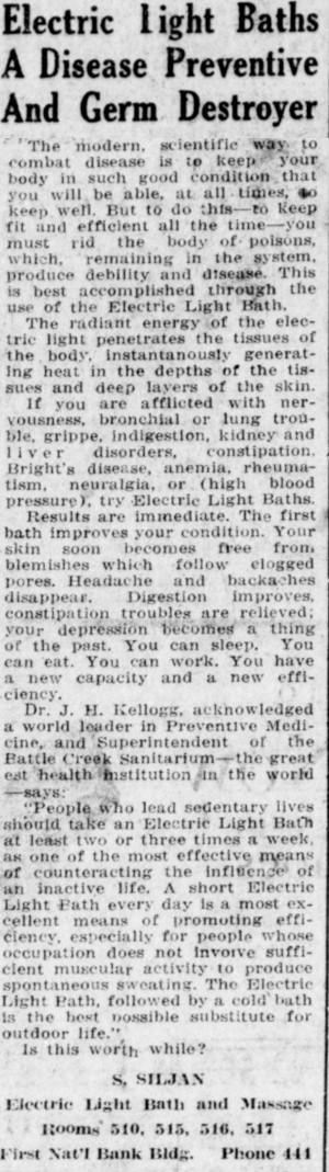 SpanishFlu.ElectricLightBaths.Nov17.1918.HumboldtTimes.