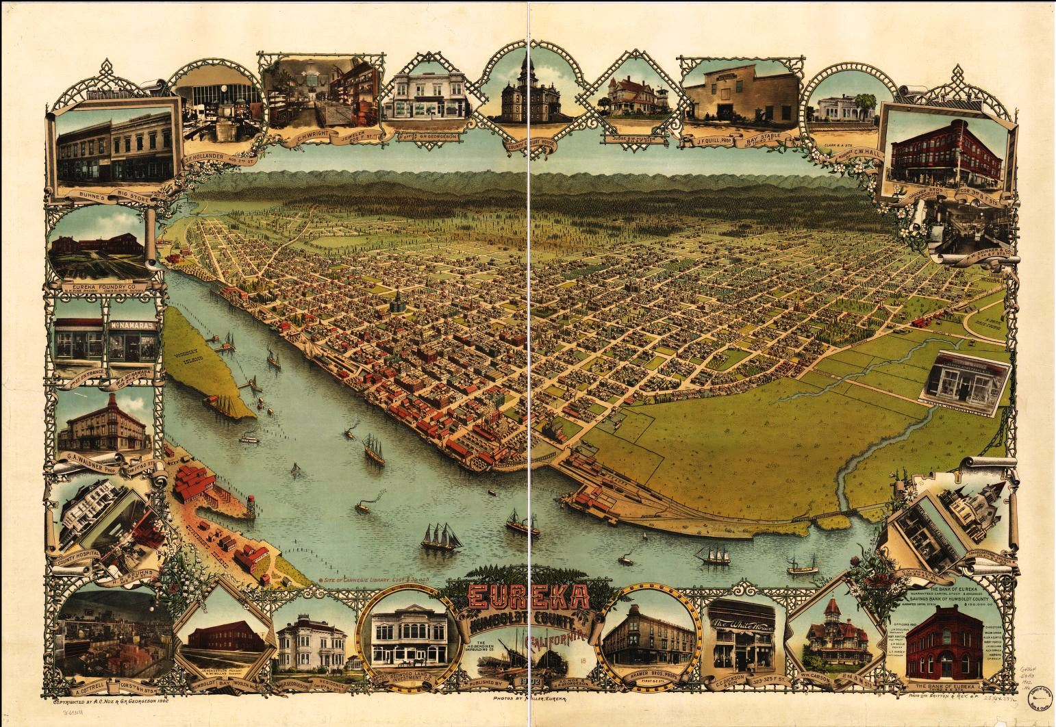 Eureka.Map.Panorama.1902.loc.gov