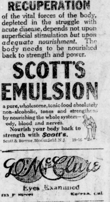 Recuperation.Humbt Times1918